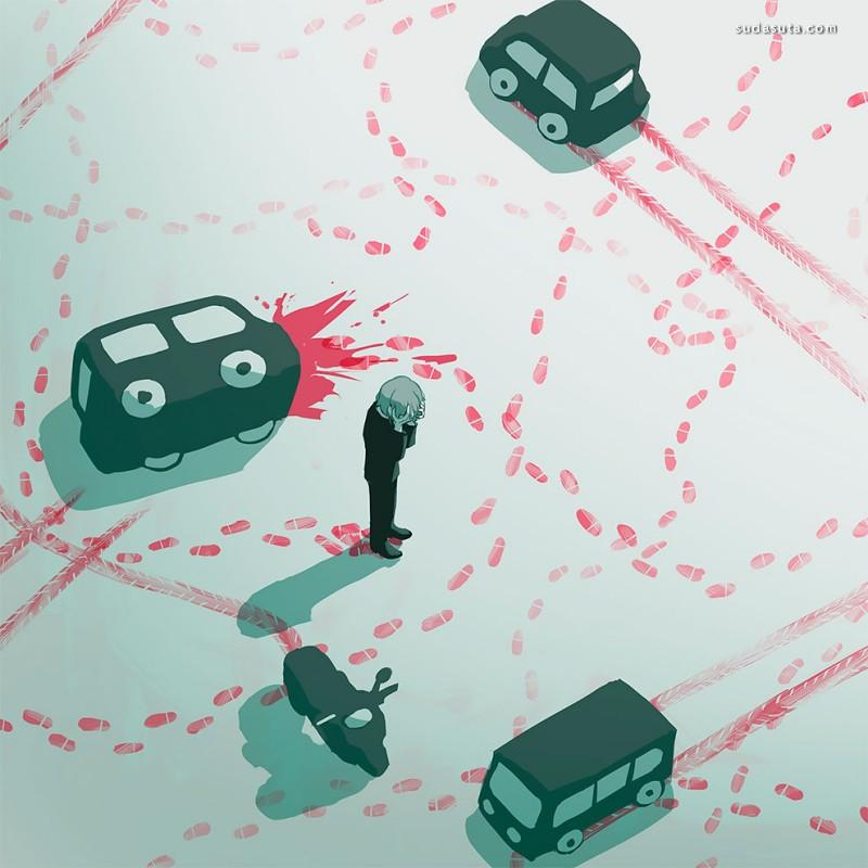 Avogado6 发人深省的二次元漫画