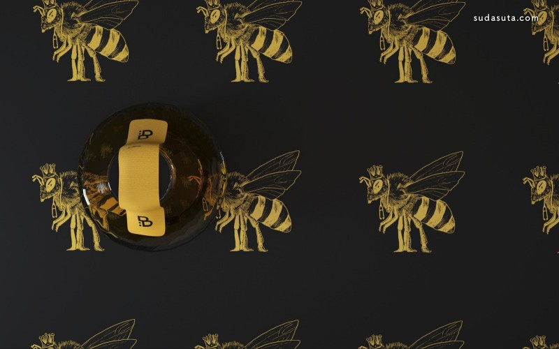 B Medical Honey 包装设计欣赏