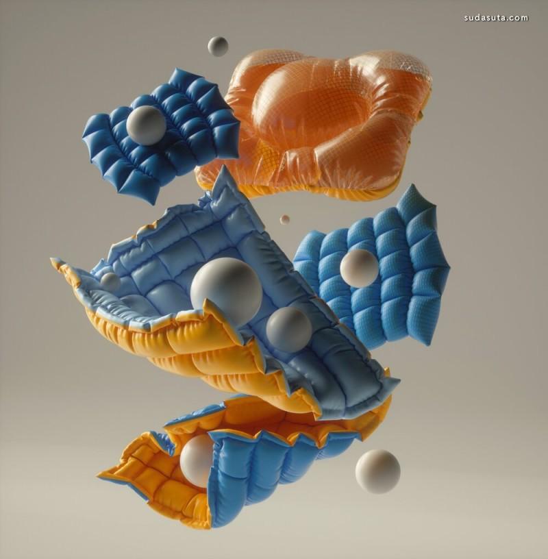 Batuhan Gürsel 3D 艺术欣赏