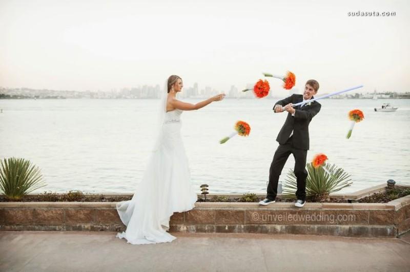 星战主题婚礼摄影欣赏