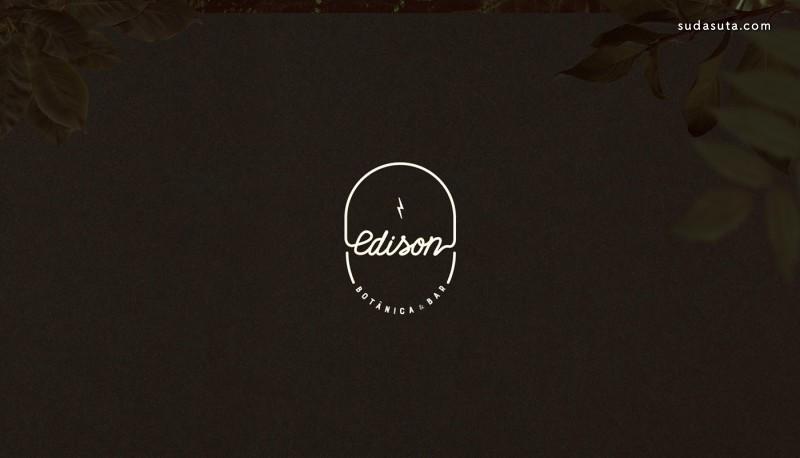 Edison Botânica & Bar 品牌设计欣赏