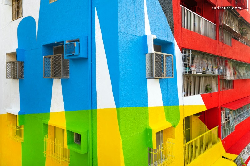 Elian Chali 色彩的疯 城市摄影欣赏