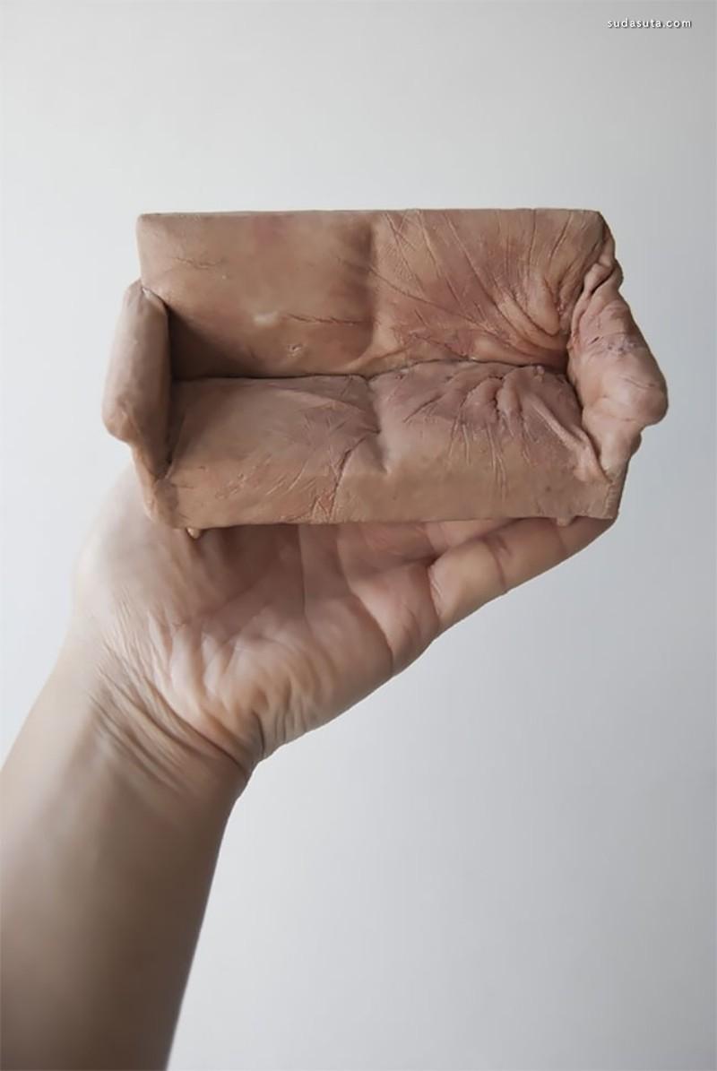 Jessica Harrison 令人不安的雕塑作品