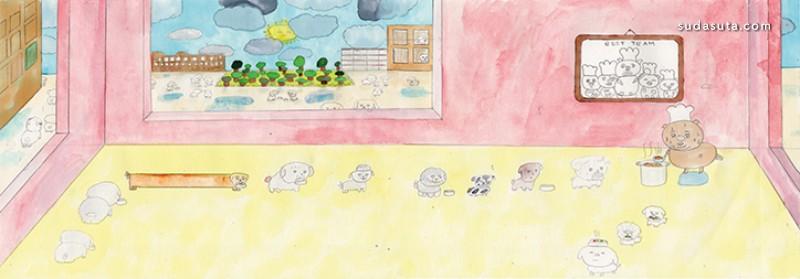 Jooyoung Kim 有趣的手绘 商业插画欣赏