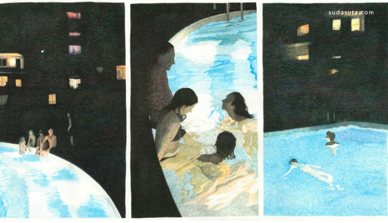 Manon Molesti 海边度假