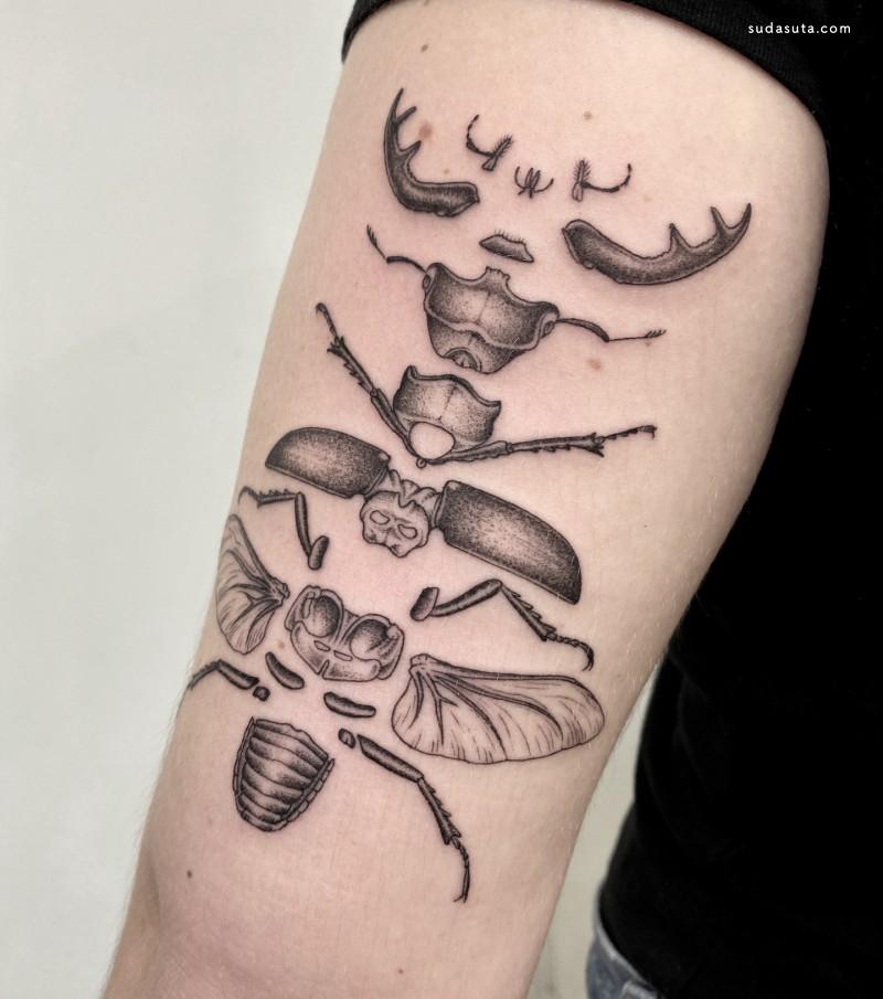 Michele Volpi  纹身设计欣赏
