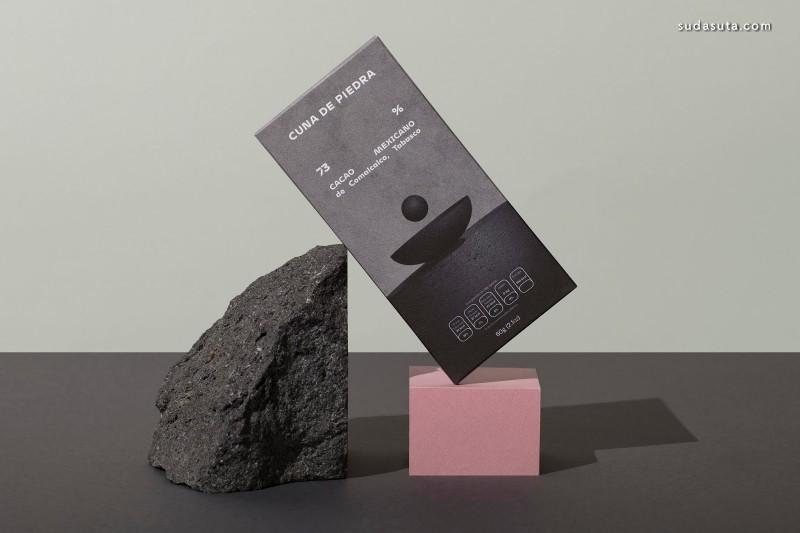 Cuna de Piedra 巧克力包装设计欣赏