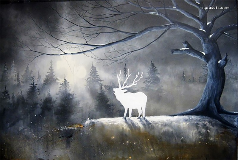 Robert Dowling Jr 超现实主义绘画艺术欣赏