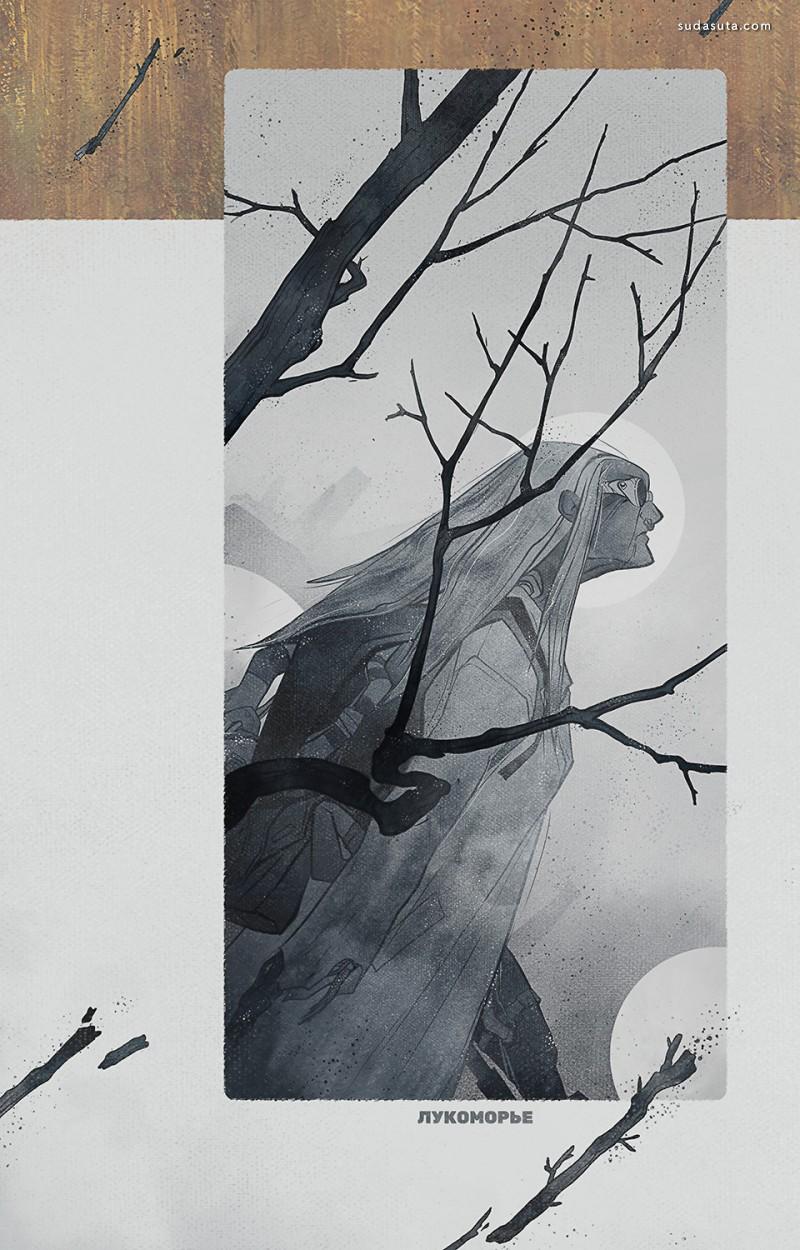 Sasha Tudvaseva 插画作品欣赏