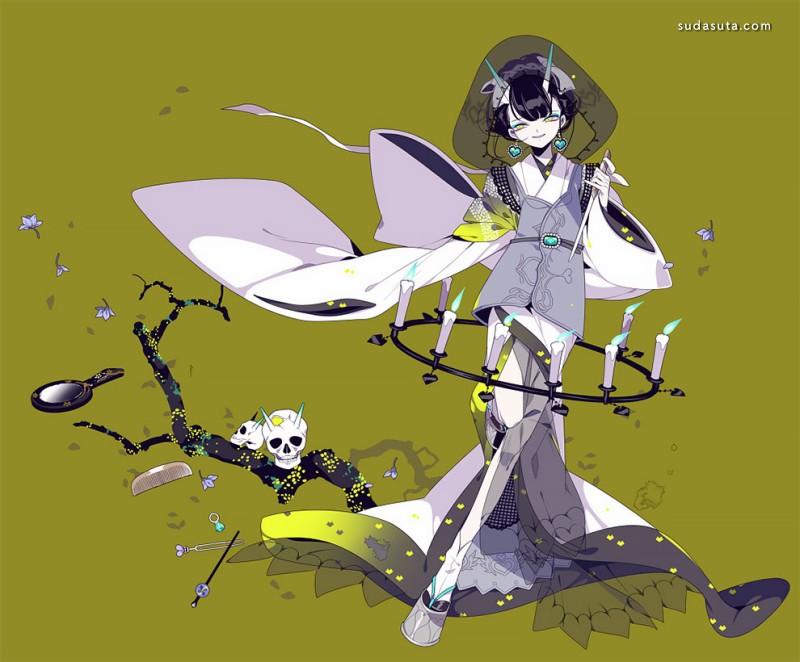 Shikimi 二次元少女漫画欣赏