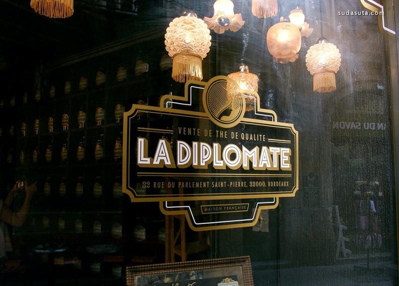 La Diplomate 品牌设计欣赏