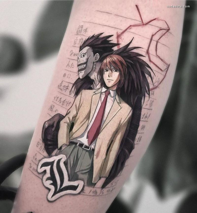 Eden Kozokaro 纹身图案设计欣赏