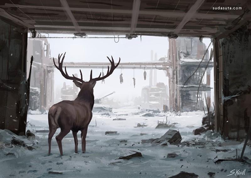 Stefan Koidl 描绘噩梦