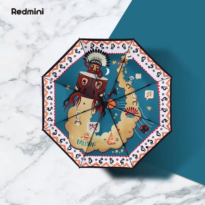 Redmini 火星店 独立雨伞设计品牌