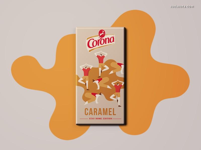 Corona 巧克力包装设计欣赏