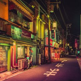 Anthony Presley 日本夜景 霓虹城市