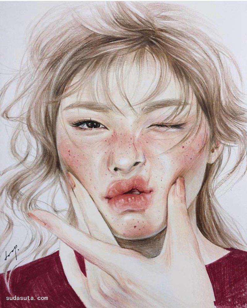韩国插画家 Mood doop