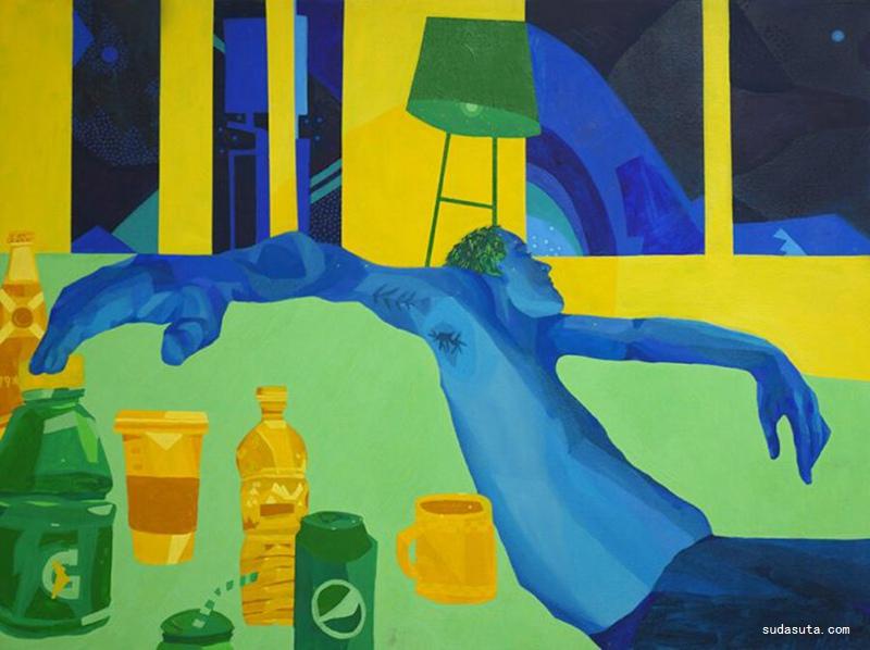 Sheila Nicolin 艺术绘画欣赏