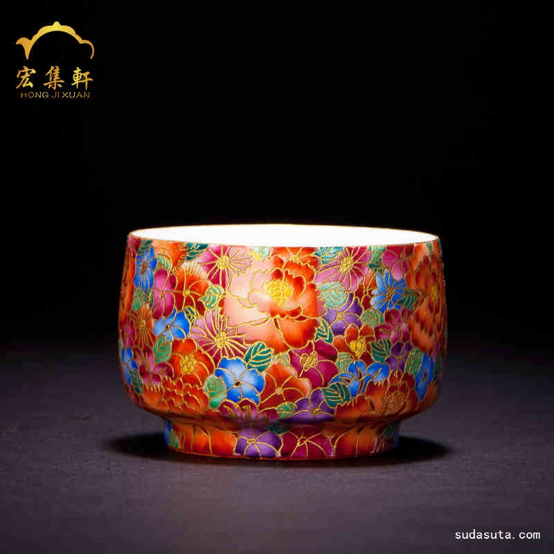 宏集轩 陶瓷杯盏 时尚设计欣赏