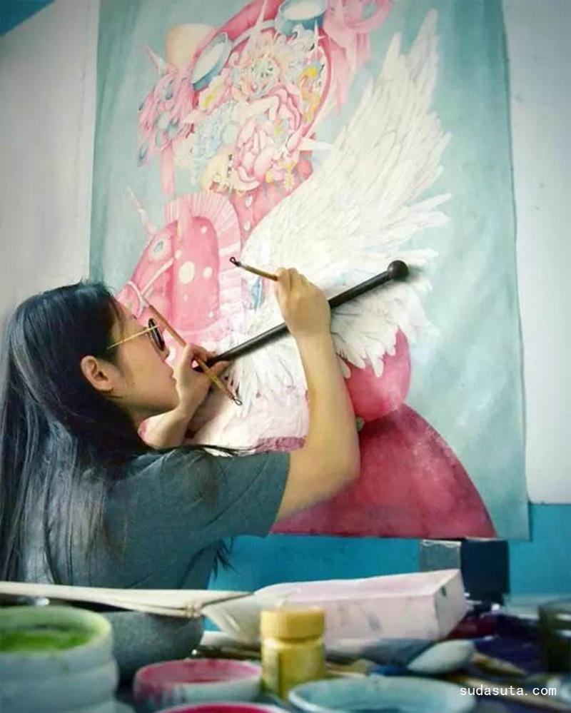 徐琳琳 绘画作品欣赏