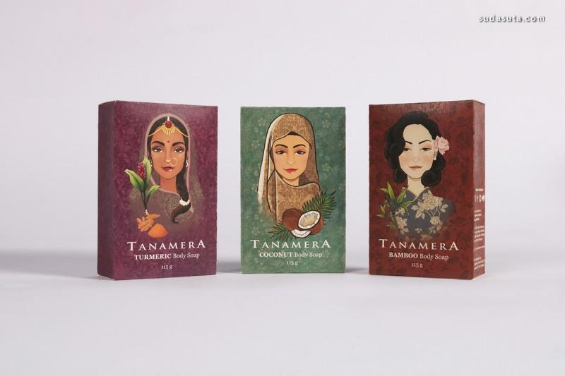 Tanamera 包装设计欣赏