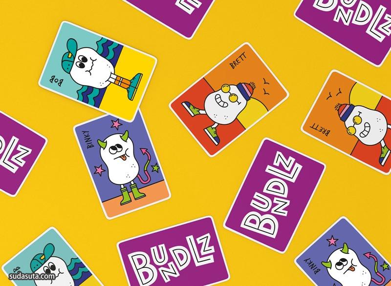 糖果品牌 Bundlz 包装设计欣赏