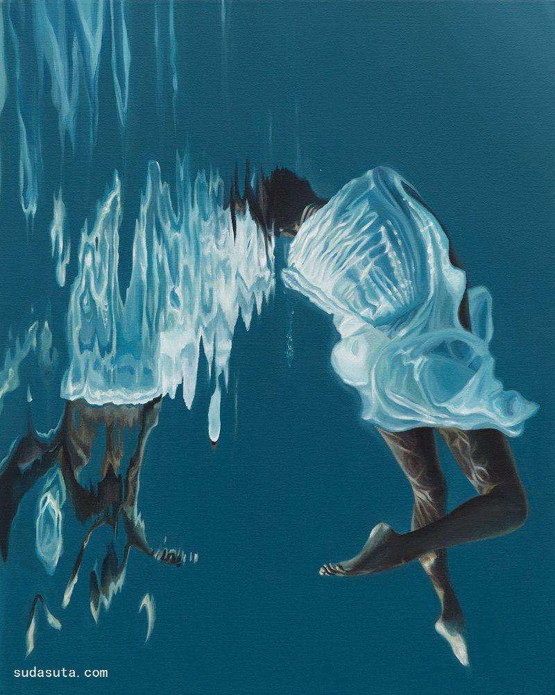 Calida Garcia Rawles 超现实主义绘画艺术欣赏