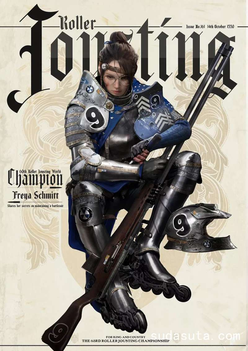 Johnson Ting 游戏人物机械造型CG设计