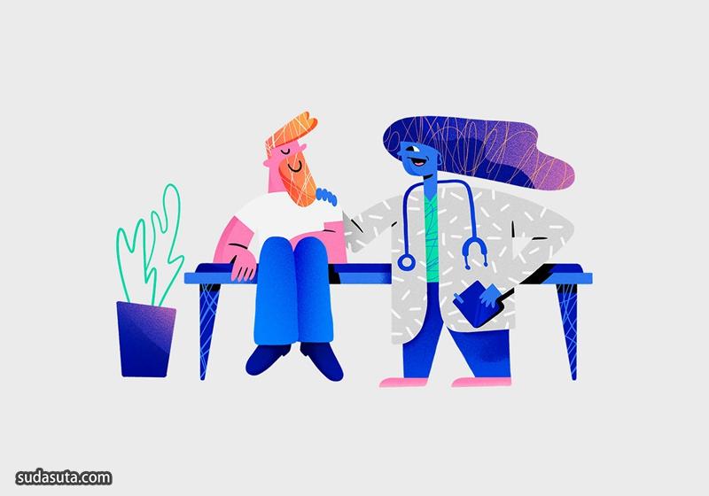 自由插画家 Nahuel Bardi
