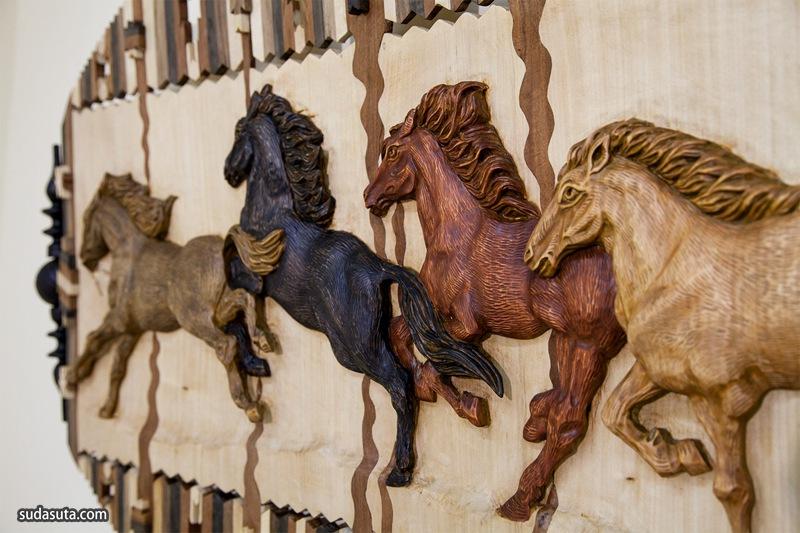 Oleg Getmanchuk 木头艺术家