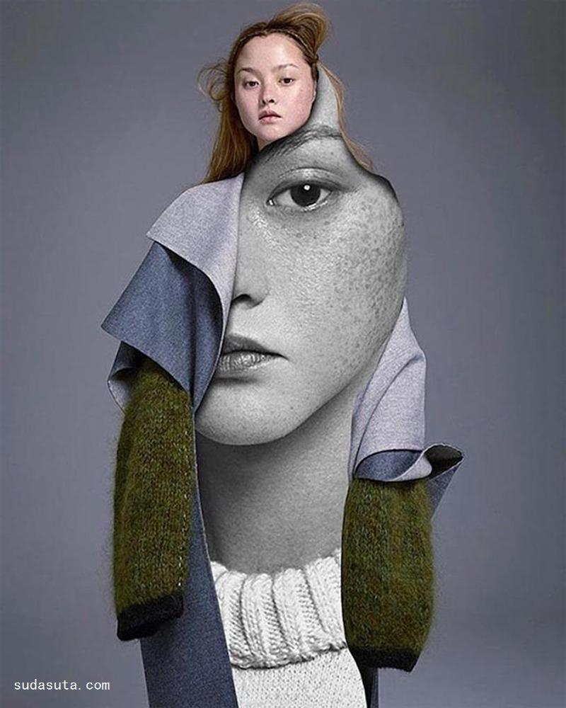 Pablo Thecuadro 时尚拼贴欣赏