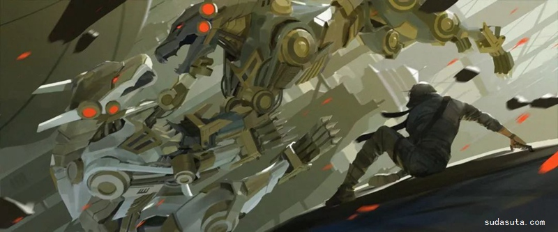 Jason Scheier 科幻场景插画欣赏