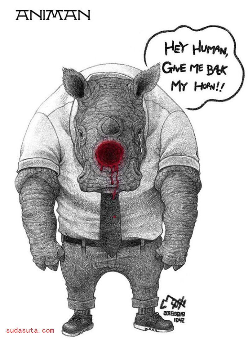 Milkdongcomics 主题插画欣赏
