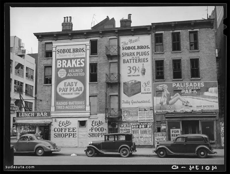 1938的美国纽约街头摄影欣赏