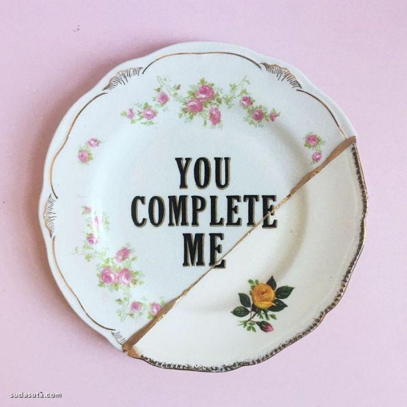 Marie-Claude Marquis 的旧盘子