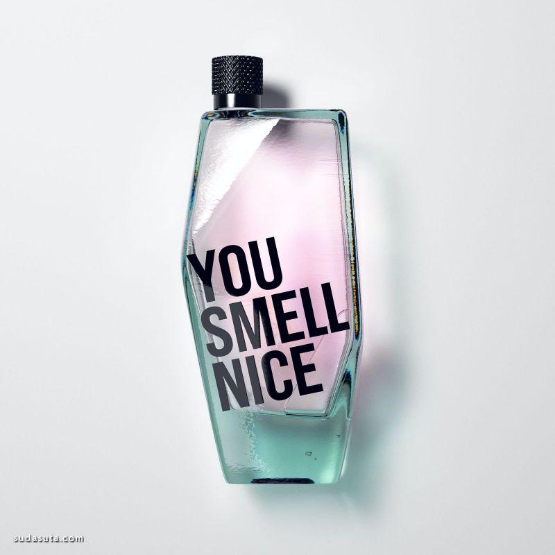 You Smell Nice 包装设计欣赏