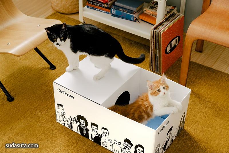 Cat Person Shipper 猫猫的托运箱