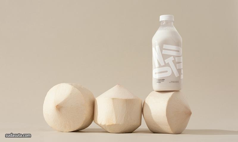 Coconut Milk 包装设计欣赏