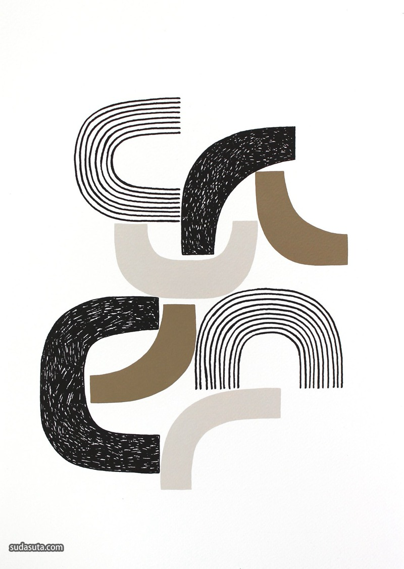 Eloise Renouf 图形拼贴设计欣赏
