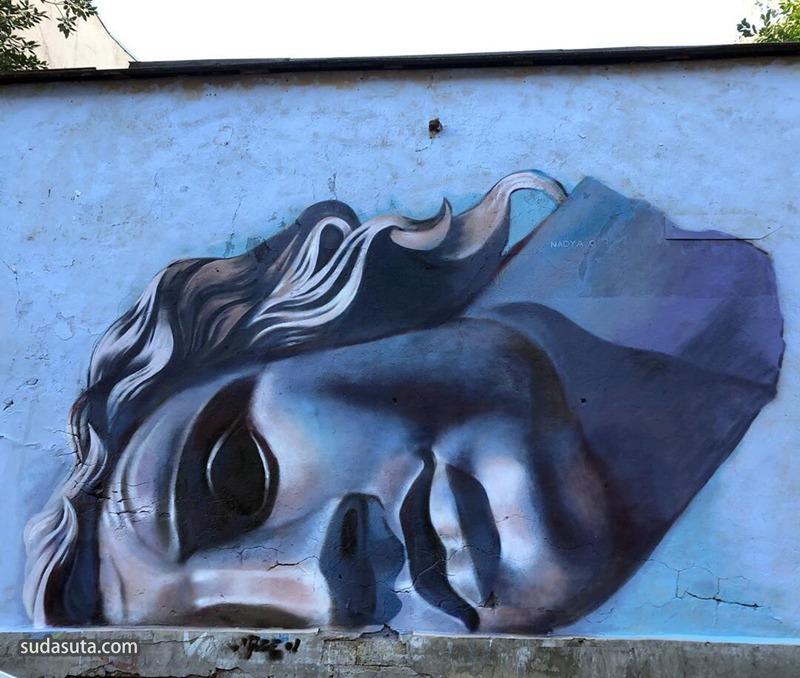 Nadya O 城市涂鸦