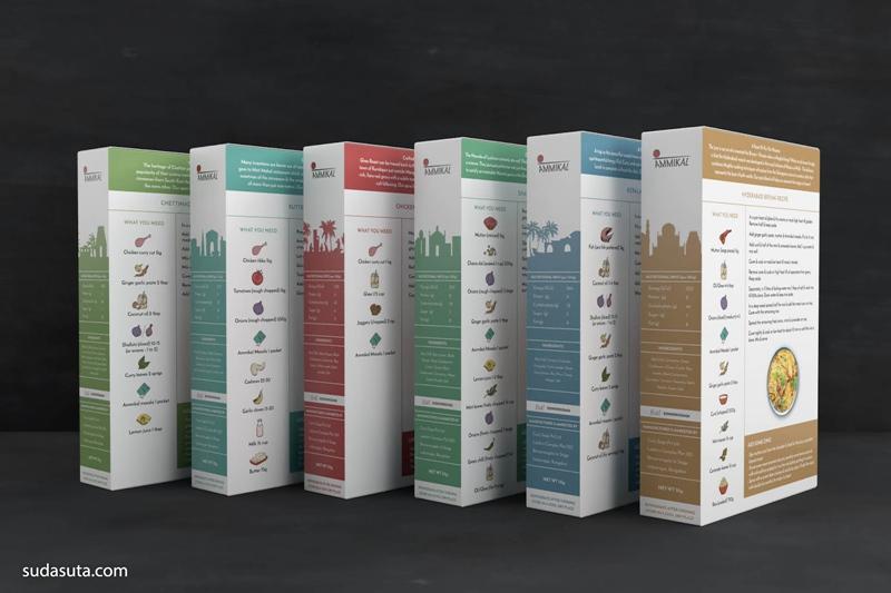 Ammikal 包装设计欣赏