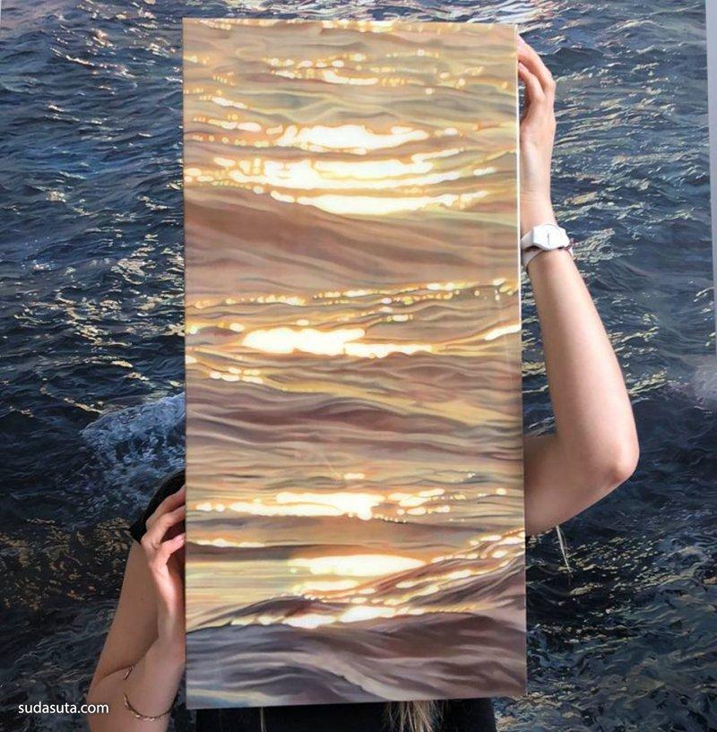 Carina Francioso 超现实主义绘画艺术欣赏
