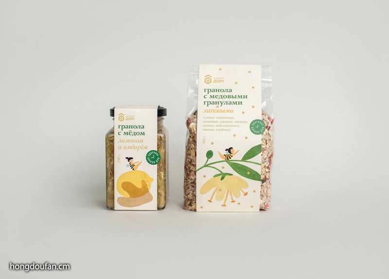 Honey House 包装设计欣赏