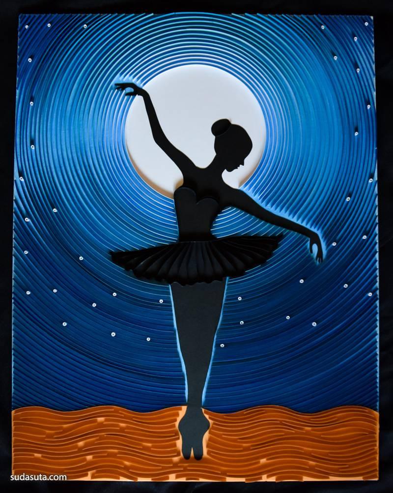 Recreates Van Gogh 夜空