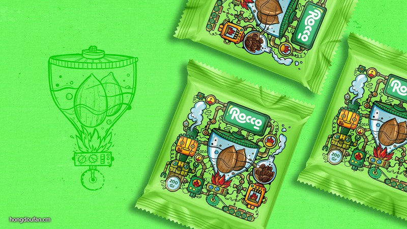 Rocco 巧克力包装设计欣赏