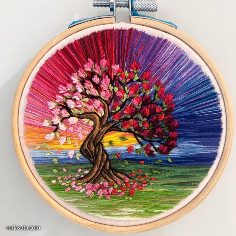 Sew Beautiful 立体手工刺绣