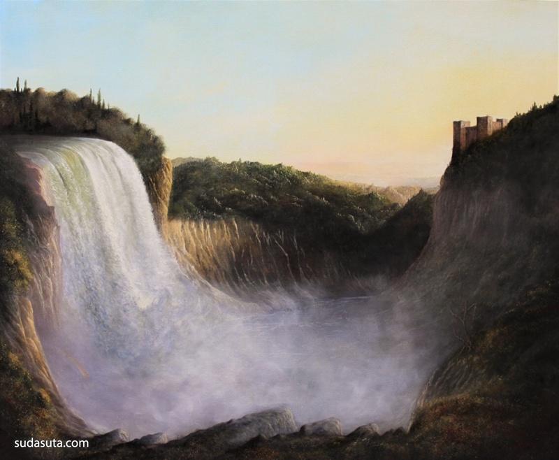 Sholto Blissett 绘画艺术作品欣赏