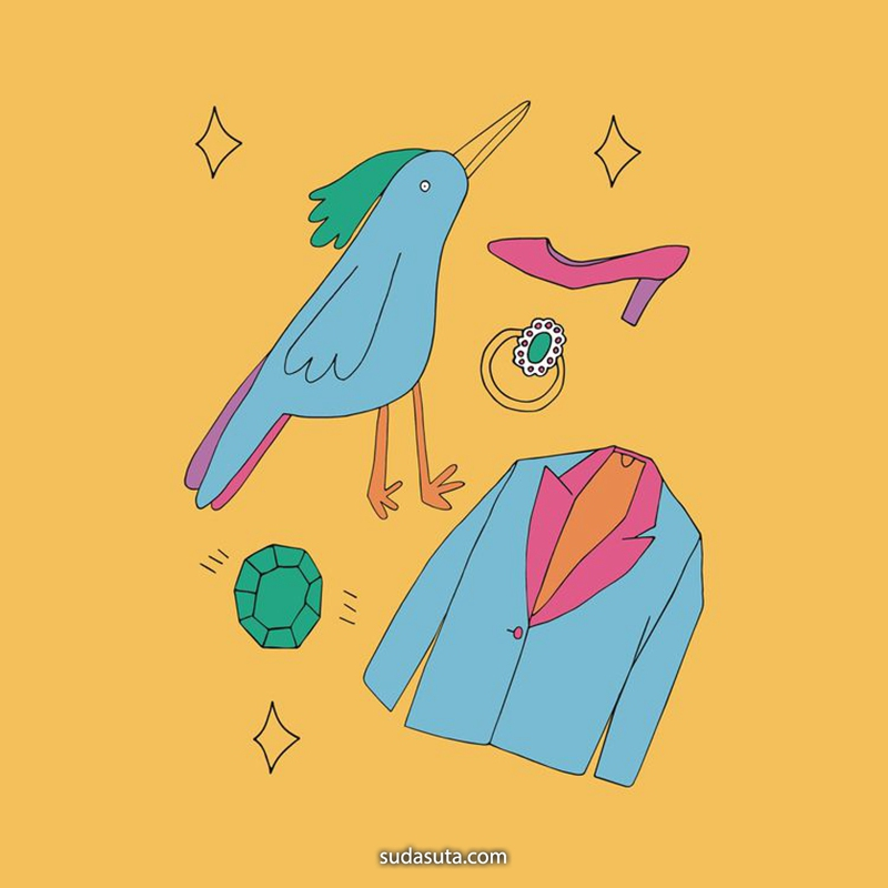 Sophie Rawlingson 装饰插画欣赏