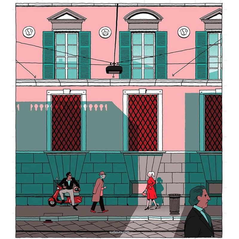 Vincent Mahé 装饰插画欣赏
