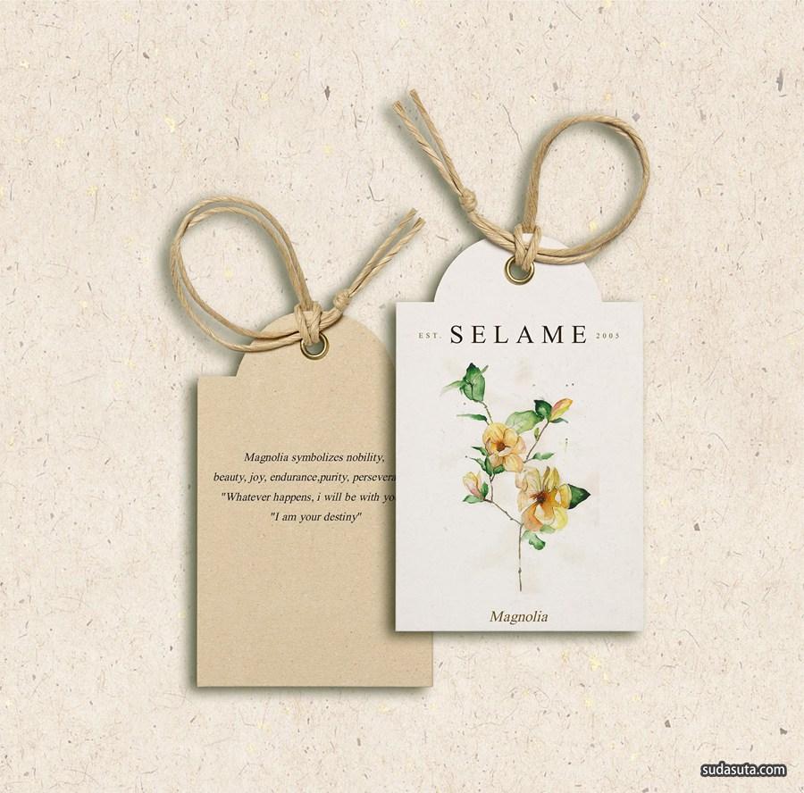Selame 花店 包装设计欣赏